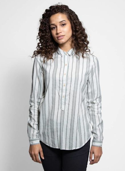 Bsbee Olympic Shirt Grey Stripe