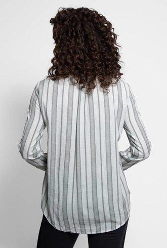 Bsbee Olympic Shirt Grey Stripe