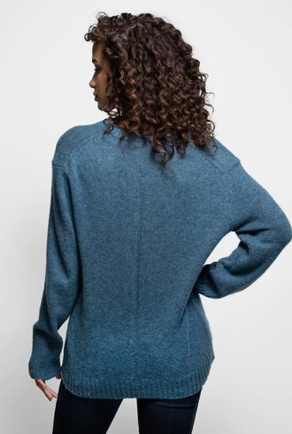 360 Sweater June V-neck Sweater Atlantis
