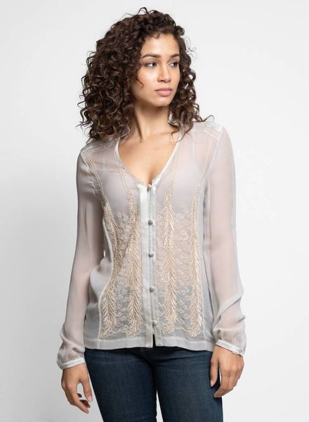 Burning Torch Dresden Blouse