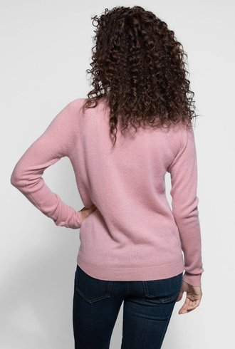 Trovata The Renee Cashmere Sweater Paradis Pink