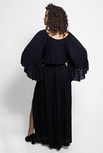 Nicole Miller Maxi Dress Black