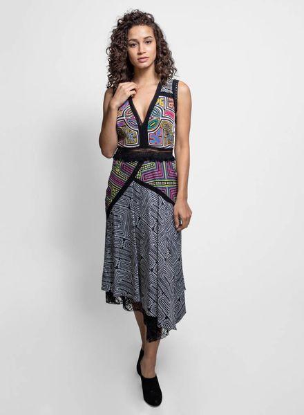 Nicole Miller Runway Dress Multi