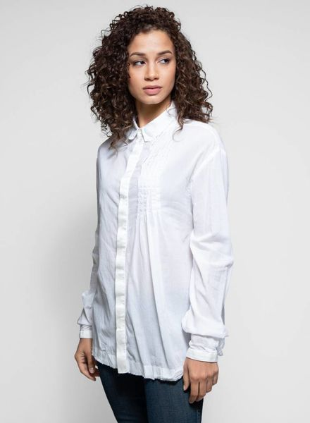 Umit Unal Cotton Shirt Cream