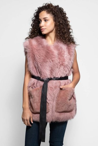 Fur Shearling Rose