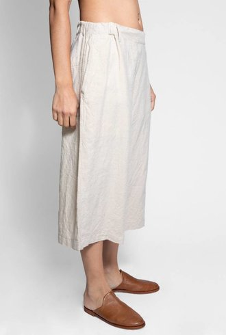 Vlas Blomme Linen Relaxed Fit Pant Flax