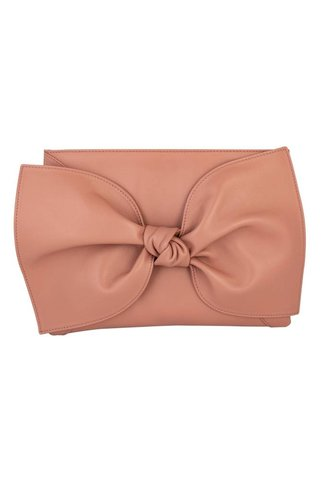 Ulla Johnson Tali Clutch Clay