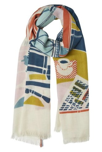 Inouitoosh Cafe De Paris Scarf Nude