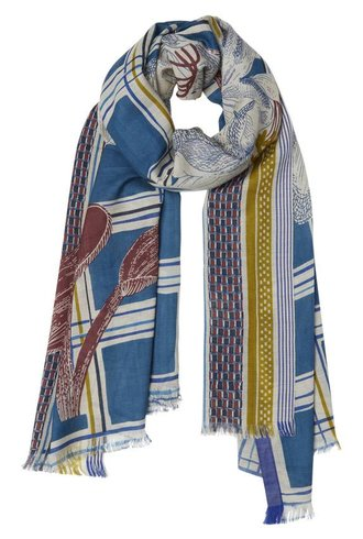 Inouitoosh Ellis Scarf Blue
