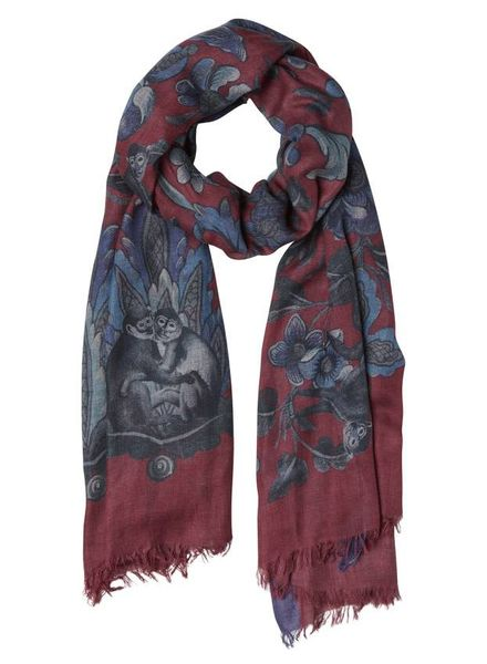 Inouitoosh Philipa Scarf Red