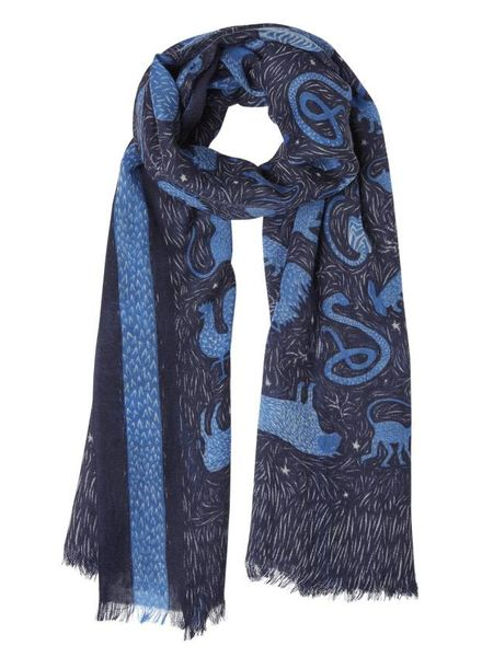 Inouitoosh Zodiaque Scarf Blue