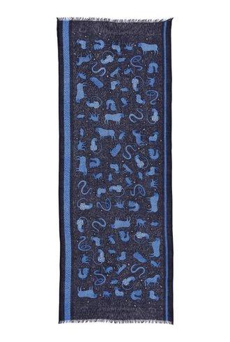 Inouitoosh Zodiaque Scarf Blue