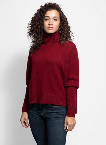 360 Sweater Kirin Turtleneck Russet