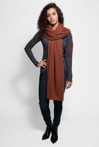 360 Sweater Linus Scarf Cinnamon