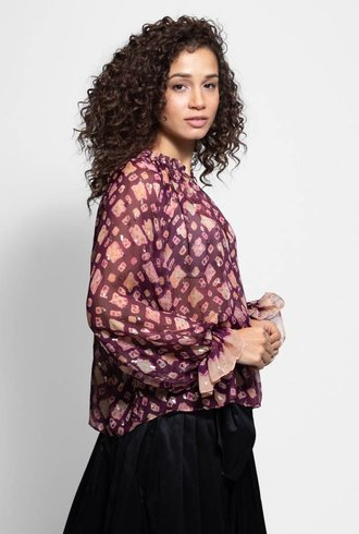 Ulla Johnson Nailah Blouse Bordeaux