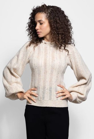 Ulla Johnson Dionne Pullover Cream