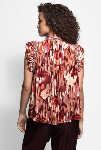 Ulla Johnson Jive Top Rose