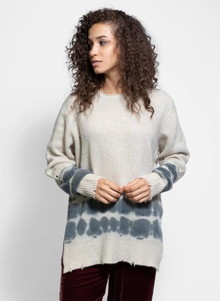 Raquel Allegra Crew Neck Sweater Oatmeal
