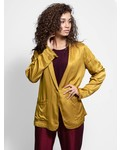 Raquel Allegra Shawl Blazer Gold