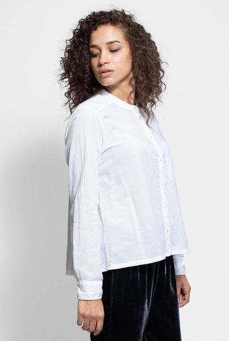 Xirena Graycen Cotton Poplin White