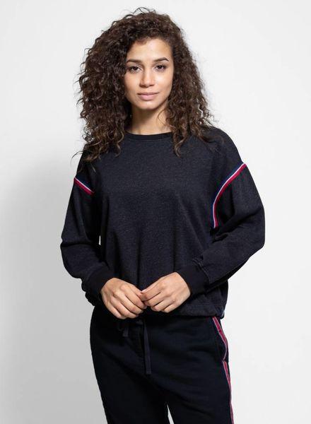 Xirena Champ Desert Trip Sweatshirt Black Steel