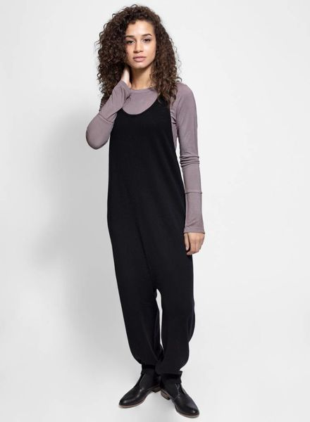 Burning Torch Cashmere Jumper Black