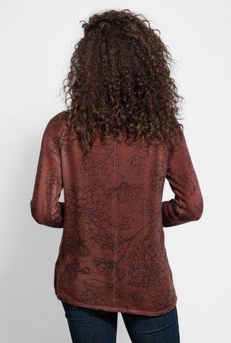 MA+CH Sweatshirt Wallflower Rust