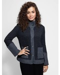 Inhabit Pea Coat Charcoal