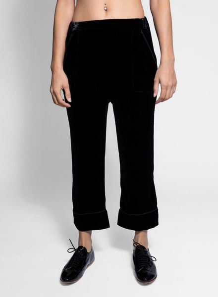 The Great The Velvet Pajama Trouser Black