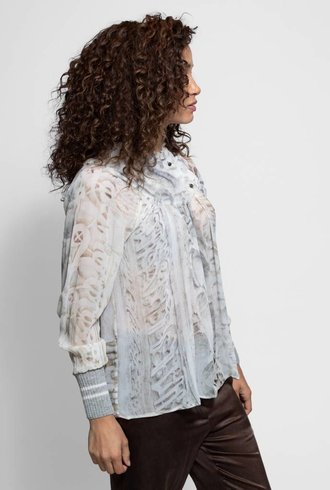 Burning Torch Valetta Top Winter White