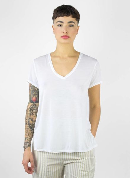 Burning Torch 4 Directions Short Sleeve Top White