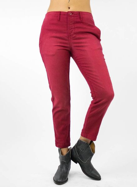 The Great The Carpenter Trouser Beat Up Red