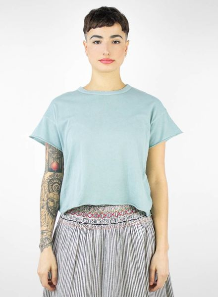 The Great The Crop Tee Seaglass