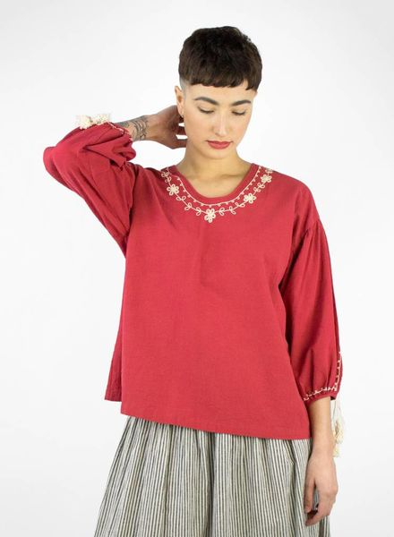 The Great The Vineyard Tunic Saffron