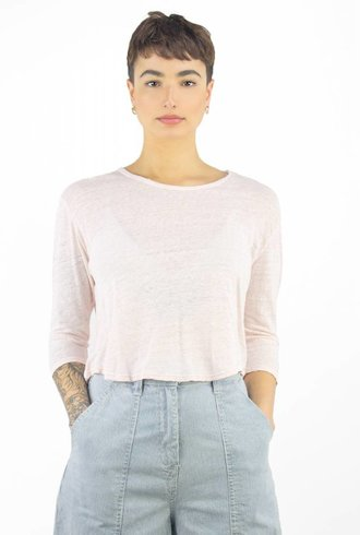 Ulla Johnson Kasia T-Shirt Rosebud