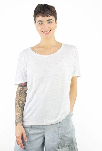 Ulla Johnson Tanya T-Shirt Indigo