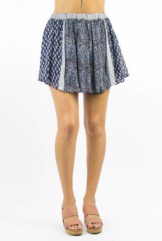 Ulla Johnson Patchwork Miniskirt Mer