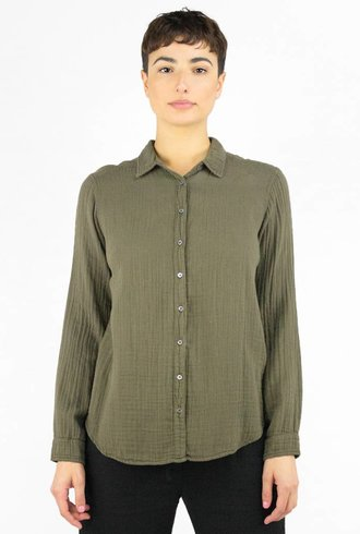 Xirena Scout Chelsea Gauze Shirt Terrain