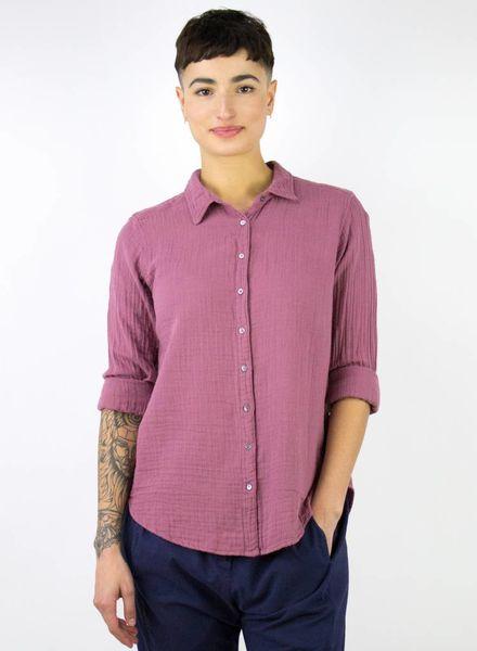 Xirena Scout Chelsea Gauze Shirt Ella Rose