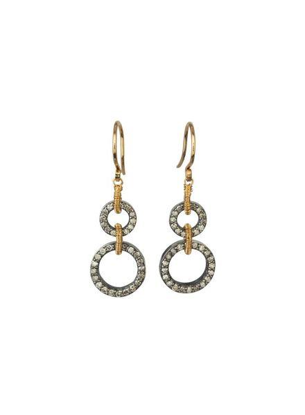 Dana Kellin Fine Diamond 14K Drop Earrings