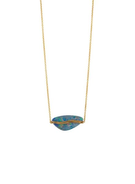 Dana Kellin Fine Opal 14K Necklace