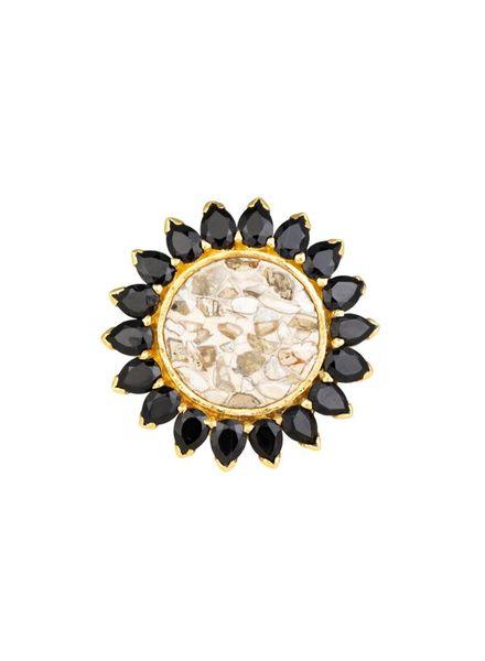 Shana Gulati Cuvier Ring Yellow Gold