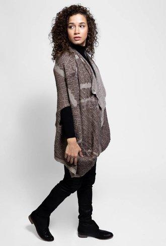 Gary Graham Knit Messiah Coat