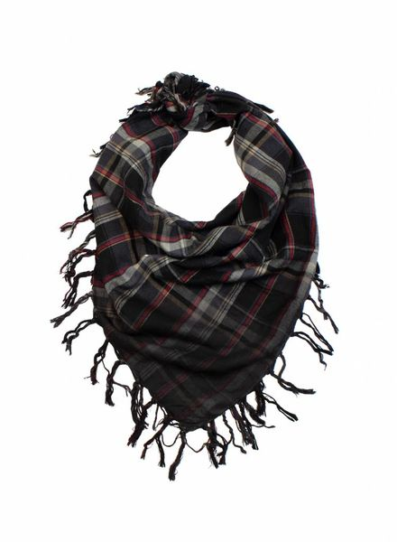 Plaid Scarf Carreaux