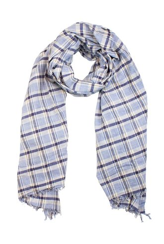 Local Alcea Big Check Scarf