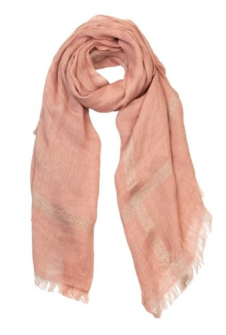 Destin Bordy Quadra Scarf Pink