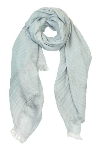 Destin Bordy Quadra Scarf Baby Blue