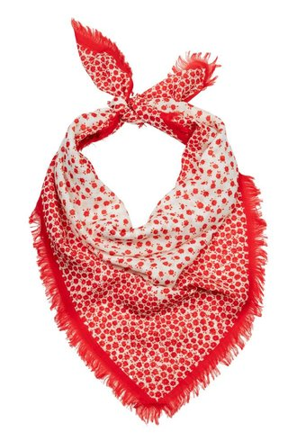 Destin Spring Bandana Red