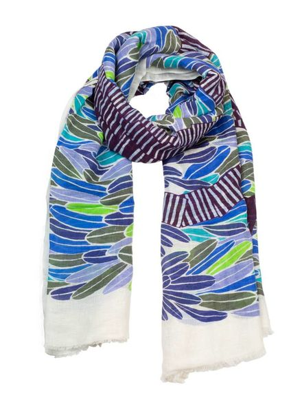 Inouitoosh Zebulon Scarf Navy Green