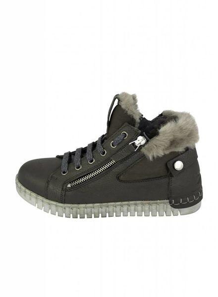 Andia Fora Shearling High-top Sneakers